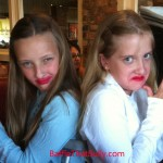 Girls in character before Miranda Sings concert